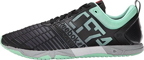Zapatillas De Deporte Reebok Hombres Crossfit Sprint Tr Mint Glow / Negro / Plateado 10 D (m)