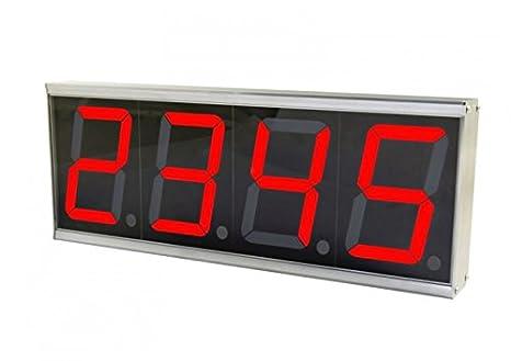 ALLNET All-PoE-CNT-1 Digital Wall Clock Rectángulo Gris - Reloj de