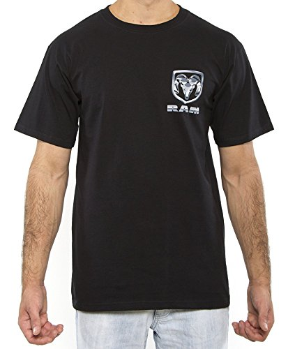 Dodge Ram Black Adult T-shirt (Large)