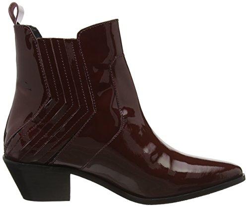 Pepe Jeans Dina New Elastic, Zapatillas de Estar por Casa para Mujer Rojo - Rot (Burgundy 299)