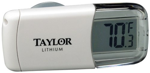 Taylor Digital Stick On Refrigerator Thermometer ()