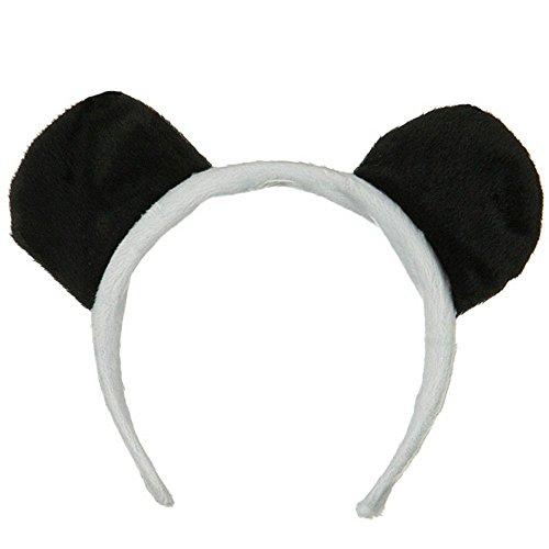 Panda Bear Ears Costume Headband ()