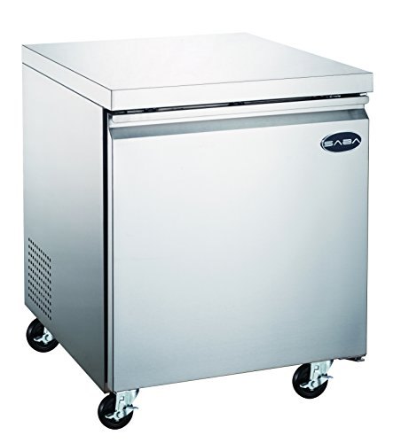 "Commercial Under Counter Freezer with 1 Door and 27"" in Length"