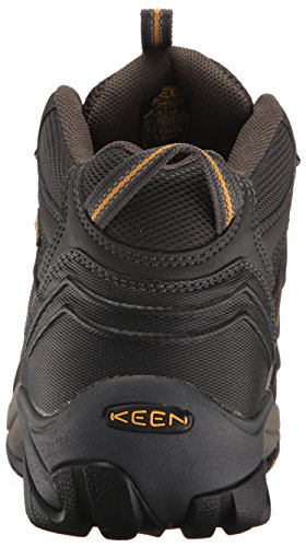 KEEN Utility Men's Lansing Mid Waterproof Industrial and Construction Shoe, Raven/Tawny Olive, 10.5 2E US by KEEN Utility (Image #2)