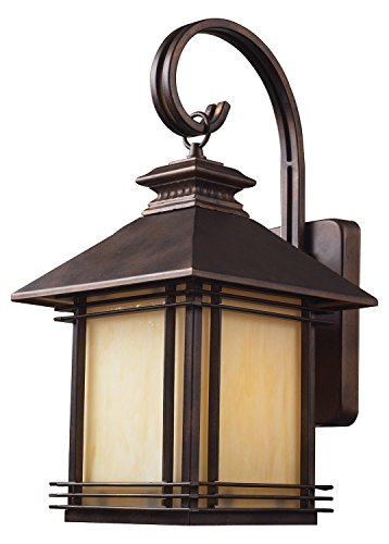 Blackwell Wall Lantern (One Light Led Hazlenut Bronze Wall Lantern Light Fixture)