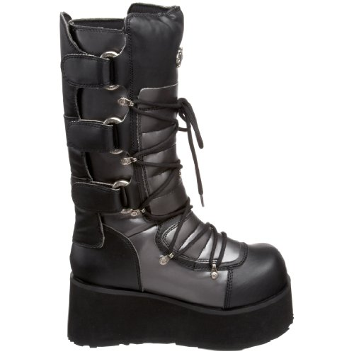 Black 519 Men's Pleaser Trashville Boot Polyurethane RI6RqWCUw
