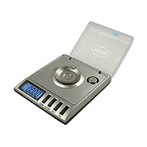 American Weigh Gemini SS Compact Pocket Scale, Calibration Weight Carry Case, Tweezer Gemini-20, Silver 1 ea