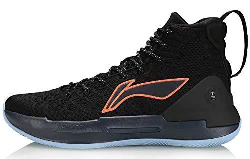 LI-NING YU Shuai ⅩⅢ CJ McCollum Men Professional Basketball Shoes Lining Cushioning Wearable Sneakers Black ABAP075-1 US 8
