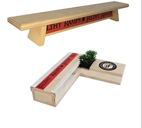 Filthy Fingerboard Ramps Stripper and Bench Combo from, for fingerboards and tech Decks by Filthy Fingerboard Ramps (Image #1)