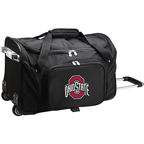 (NCAA Ohio State Buckeyes Wheeled Duffle Bag)