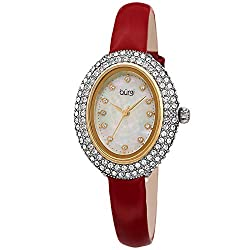 Genuine Swarovski Studded Double Row Crystal Watch