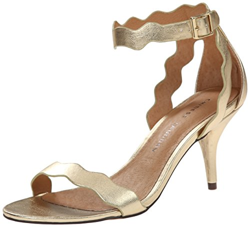 Metallic Open Toe Heels - Chinese Laundry Women's Rubie Dress Sandal, Gold Metallic,  8.5 M US