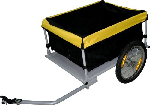 Bicycle Bike Cargo Trailer Cart Carrier Yellow