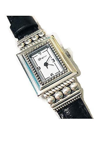 Brighton Taxco Womens Watch Brown Black Reversible Leather Band (Jewelry Brighton Watches)