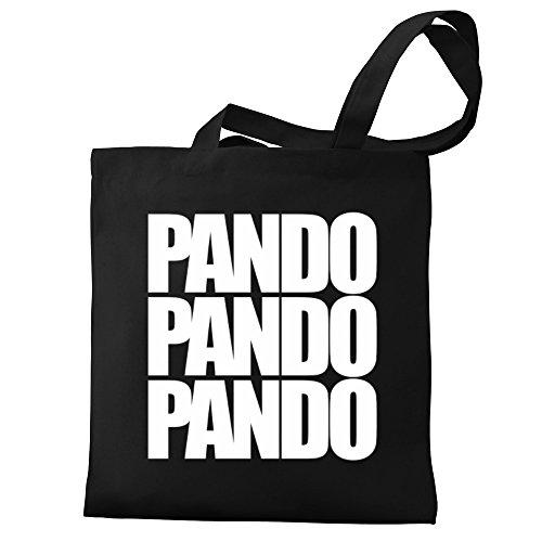 Eddany Pando three words Bereich für Taschen