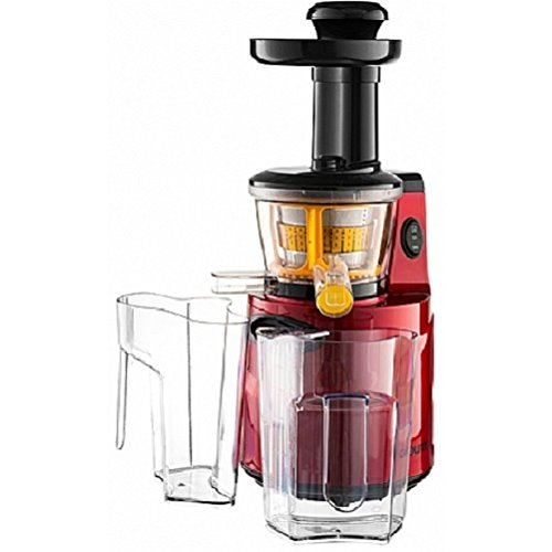 Gourmia GSJ200 Masticating Slow Juicer, Max Nutrient Fruit and Vegetable Juice - 110/120V