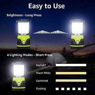 Farol LED para camping 2