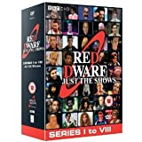 Red Dwarf: Just The Shows - BBC 2 Complete Volume 1 & 2 - Includes Series I, II, III, IV, V, VI, VII & VIII (10 Disc Box Set) [DVD]