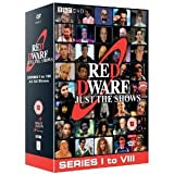 Red Dwarf: Just The Shows - BBC 2 Complete Volume 1 & 2 - Includes Series I, II, III, IV, V, VI, VII & VIII