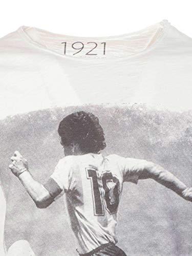 Coton 1921soccer10 T Homme Blanc 1921 shirt 14qta5w