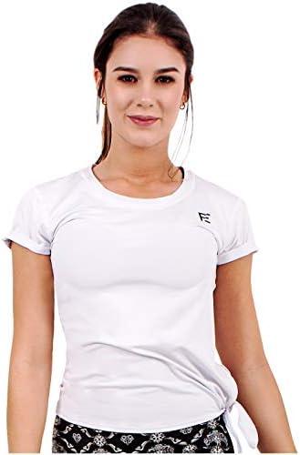Flexmee 930002 Workout Training Gym Run Tshirts for Women | Camisilla Deportiva