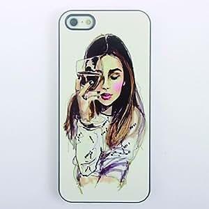 BuW Elegant Girl Design Metal Hard Case for iPhone 6 plusElegant Girl Design Metal Hard Case for iPhone 6 plus, iphone 6 plus, iphone 6 plus cases, iphone 6 plus cases, iphone cases