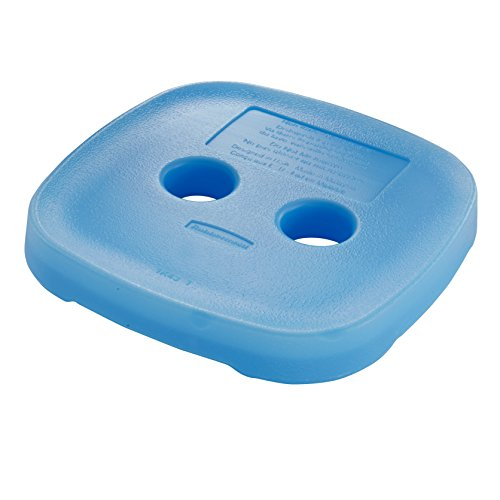 Rubbermaid Blue Ice for Easy Find Lid Containers, Medium (1805555)