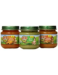 Earth's Best Organic Stage 1 Baby Food, My First Veggies Variety Pack (Carrots, Peas, and Sweet Potatoes), 2.5 Ounce Jars, Pack of 12 BOBEBE Online Baby Store From New York to Miami and Los Angeles
