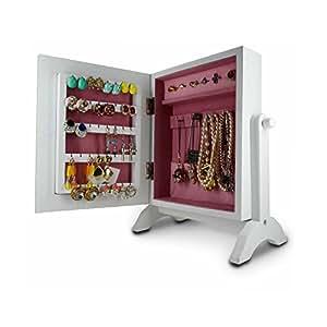 Amazon.com: Organizedlife Wooden Jewelry Box Cosmetic