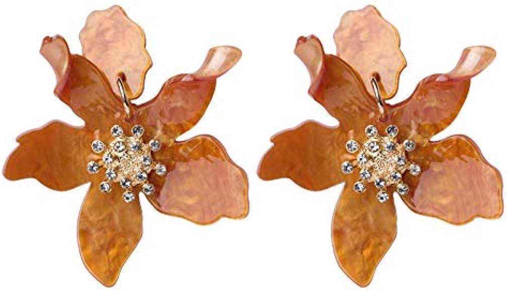 Elegant Earrings Stud Drop Dangle Women Colorful Wedding Jewellery Party Gift LA