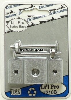 - Driftmaster 216BR Lil Pro Clamp Base