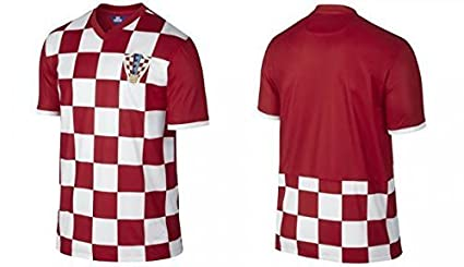 cf079cde53a Image Unavailable. Image not available for. Color: Croatia World Cup Adult  Home Soccer Jersey ...