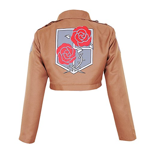 CG Costume Women's Attack on Titan Garrison Regiment Jacket Cosplay Costume