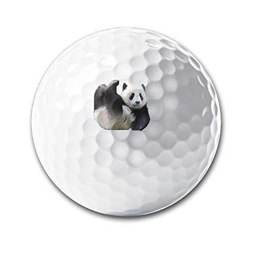 Costume Party Instrumental (KSH Lovely Panda Sporting Practice Golf Balls Distance Golf Balls In Diameter 42.7MM)