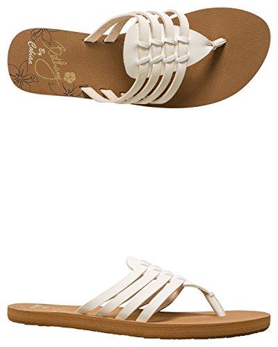 Cobian Kvinners Aloha-flip-flop Krem