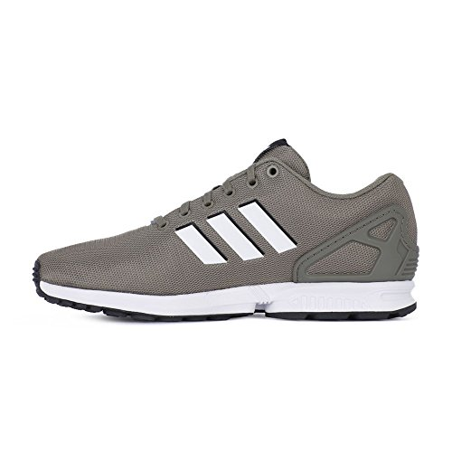 adidas Herren ZX Flux Gymnastikschuhe Mehrfarbig (Tracar/ftwwht/cblack Cq2841)