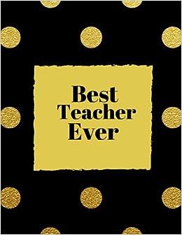 best teacher ever ultimate teachers grading book planner notebook