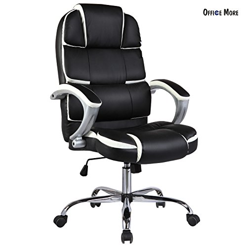 ergonomic-high-back-executive-swivel-office-chair-pu-leather-computer-desk-task