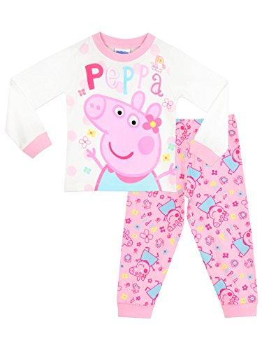 Peppa Wutz Mädchen Peppa Pig Schlafanzug 110cm
