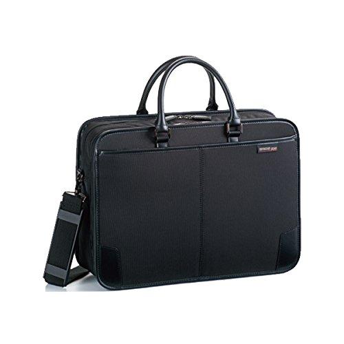 ジャーメインギア Y付兼用フチ巻き ビジネスバッグ メンズ 26575 ブラック バッグ ビジネスバッグ mirai1-519752-ak [並行輸入品] [簡易パッケージ品] B06Y1QXQFB