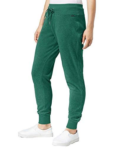 Calvin Klein Women's Drawstring Jogger Pants Malachite XL ()