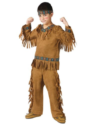 [AMERICAN INDIAN BOY CHLD MED] (Toddler Indian Costumes)