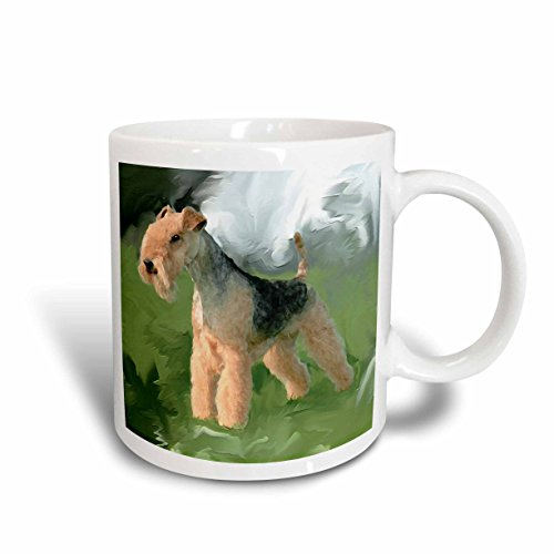 3dRose Lakeland Terrier Mug, 11-Ounce