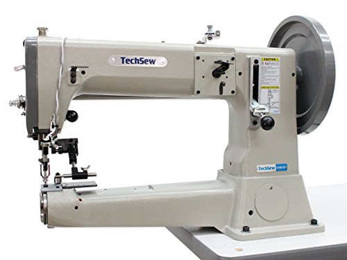 TechSew 5100-SE Heavy Duty Leather Industrial Sewing Machine with Assembled Table & Servo Motor