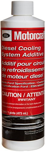 Genuine Ford Fluid VC-8 Diesel Cooling System Additive - 16 oz. - Ford Green