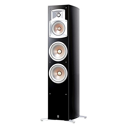Yamaha NS-555 3-Way Bass Reflex Tower Speaker (Each) by Yamaha