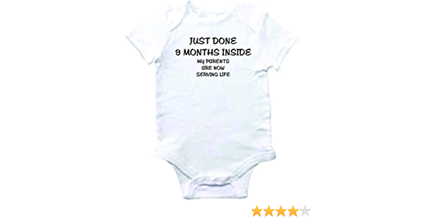 Baby Bodysuit I Will Finish What You Started Cute Baby Clothes for Infants