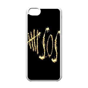 [H-DIY CASE] For Iphone 5c -5SOS Rock Music Band-CASE-2