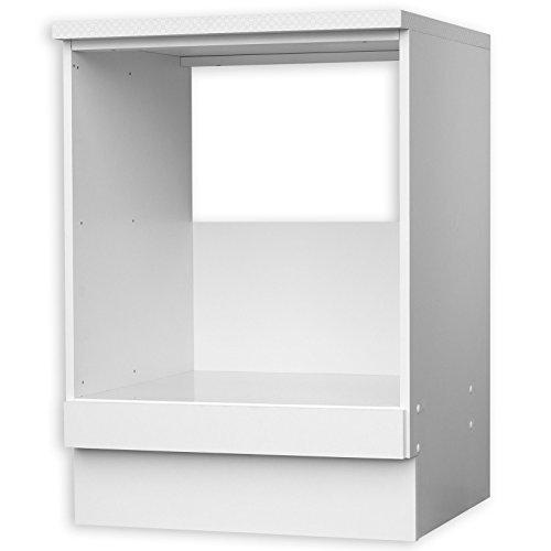 ROLLER Herdumbauschrank WIEN - weiß - 60 cm