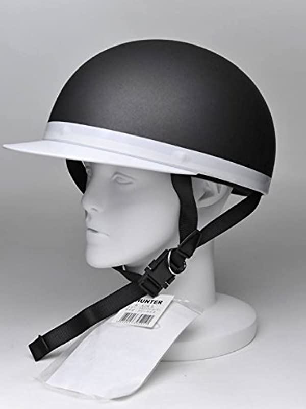 HUNTER 하프 반 헬멧 HA-25-MTSV-XL